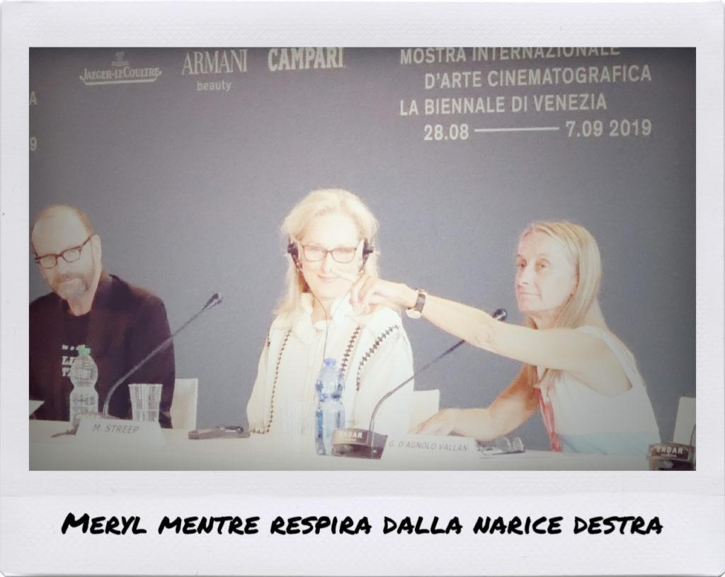 Conferenza stampa con Meryl Streep